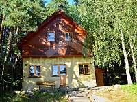 Chata k pronajmutí - dovolená  Velký Klikovský rybník rekreace Strmilov - Leština