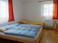 ložnice 1 přízemí - chalupa ubytování Vícemil