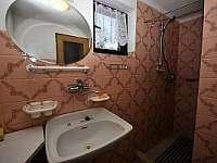 Koupelna - pronájem chalupy Černá v Pošumaví - Plánička