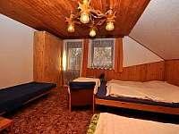 Ložnice 2 - chalupa ubytování Černá v Pošumaví - Plánička