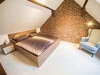 Menší ložnice pro dva - apartmán k pronajmutí Stráž nad Nežárkou - Dvorce