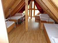 ložnice - apartmán k pronajmutí Lipno nad Vltavou