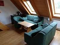 obývací kuchyň - apartmán ubytování Lipno nad Vltavou