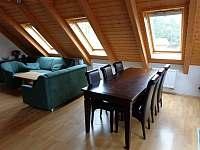 obývací kuchyň - apartmán k pronájmu Lipno nad Vltavou