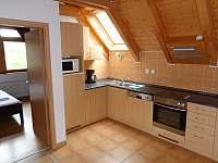 obývací kuchyň - pronájem apartmánu Lipno nad Vltavou