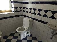 WC - apartmán k pronájmu Lipno nad Vltavou