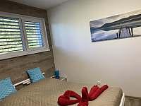 Modrá ložnice - chalupa k pronajmutí Chlum u Třeboně