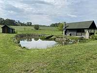 Chata s rybolovem Chabrovice - ubytování Chabrovice