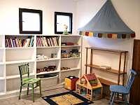 Dětský koutek - chata k pronájmu Ounuz