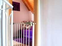 Apartmán Bakarloko Eli - ložnice vstup - Lipno nad Vltavou