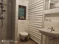 Koupelna - objekt 1 - chalupa ubytování Brloh - Kovářov