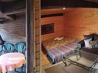 Pokoj s balkonem 3 lůžkový - objekt 1 - chalupa k pronajmutí Brloh - Kovářov