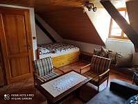 Ložnice I - pronájem apartmánu Horní Chrášťany