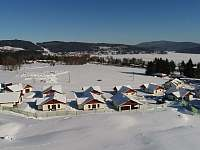 zima v areálu - Lipno nad Vltavou - Kobylnice