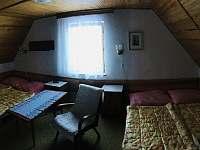 ložnice 1 - neprůchozí pokoj - chata ubytování Kovářov