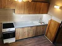 nová kuchyňka - pronájem chaty Kovářov