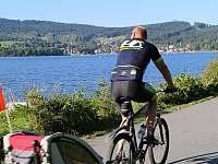 Cyklotrasy kolem Lipna - Rožmberk nad Vltavou