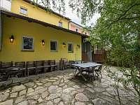 Terasa s posezením a grilem - Rožmberk nad Vltavou