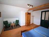 podkroví - ložnice č.2 - Dlouhá Lhota