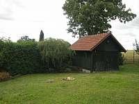 zahradní domek - chalupa ubytování Dlouhá Lhota