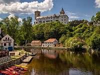 Rožmberk nad Vlt. jarní prázdniny 2022 ubytování