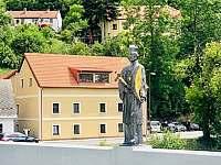 Apartmány Rožmberk v letní sezóně - ubytování Rožmberk nad Vltavou