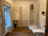 Koupelna apartmán 1 a 3 - pronájem Rožmberk nad Vltavou