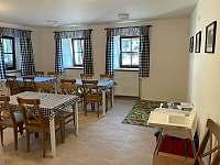 Společenská místnost - pronájem apartmánu Rožmberk nad Vltavou