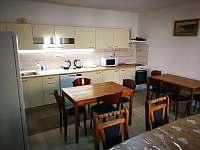 kuchyně - chalupa ubytování Březnice u Tábora