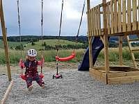 Dětské hřiště - apartmán ubytování Frymburk - Kovářov