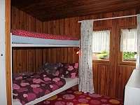 Čtyřlůžkový pokoj - chata k pronajmutí Břehov u Českých Budějovic