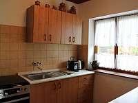 Kuchyň - chata ubytování Břehov u Českých Budějovic