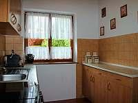 Kuchyň - chata k pronajmutí Břehov u Českých Budějovic