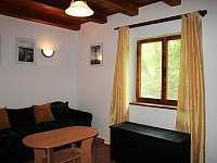 Obývací pokoj - chata ubytování Břehov u Českých Budějovic