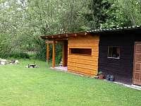 Zahradní domek s pergolou - Břehov u Českých Budějovic