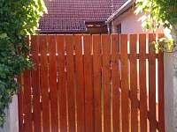 brána do zahrady - Nišovice