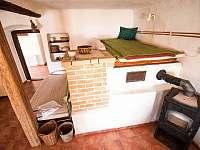 pec v sednici - chalupa ubytování Vilice