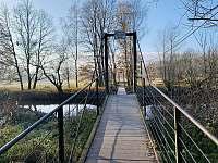 houpací most - chata k pronájmu Soběslav