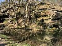 Židova strouha - chata k pronajmutí Soběslav