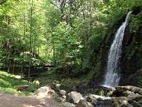 Tereziino údolí, vodopád