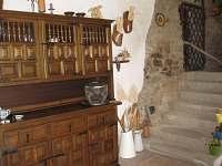 vnější prostory - chalupa ubytování Rychnov u Nových Hradů