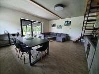Obývací pokoj Vila č.1 - k pronájmu Černá v Pošumaví - Jestřábí