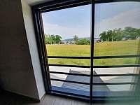 Výhled z ložnice č.2 - Černá v Pošumaví - Jestřábí