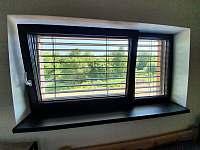 Výhled z ložnice č.3 - Černá v Pošumaví - Jestřábí