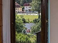 Výhled z pokoje - pronájem rekreačního domu Český Krumlov