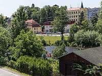 Výhled z pokoje - rekreační dům k pronájmu Český Krumlov