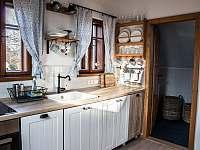 Kuchyň v podkroví - Nová Bystřice - Nový Vojířov