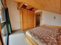 malý pokoj2 - pronájem roubenky Horní Planá - Hůrka