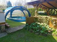 bazén - pronájem chaty Břehov - Picina
