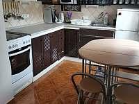 Kuchyně - chata k pronajmutí Břehov - Picina